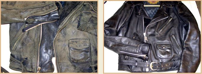How to restore leather jacket